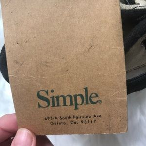 Simple Shoes - Simple nwt outdoor adventure sneakers M 5/ W 6.5